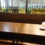 個室肉バルジャンラフィット - 店舗内観(掘りごたつ席)