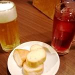 個室肉バルジャンラフィット - ドリンク&バケット