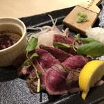 Sammaimesukegorou - 短角牛のたたき