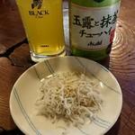 福島屋 - 料理写真:お通しのちりめん