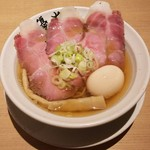 105633348 - ●淡竹「HACHIKU」800円(税込み)                       ●煮玉子50円(税込み)