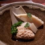 YAKITORI燃WEST - 鯛の子 菜の花 筍