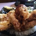 明石江井島酒館 - 明石のたこを丸ごと一匹天ぷらに!