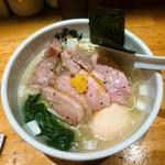 中華そば 満鶏軒 - 料理写真:特製鴨中華そば(塩)  1,100円