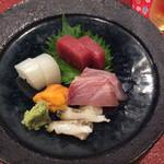 旬彩 おく村 - お刺身五種
