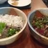リッチモンドホテル - 料理写真:しらすと鰹丼と鰹たたき丼(共に1200円)朝食バイキングのメイン
