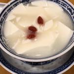 中国ラーメン 揚州商人 - 杏仁豆腐