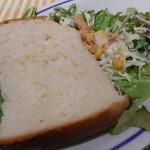 ブリアンツァ6.1 - パンとサラダ