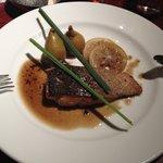FUMO14番地 - 秋鮭のムニエルカボスのソース