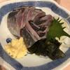 よし乃 - 料理写真:鯵の刺身  生姜で♪ 900円