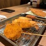炭火串焼と旬鮮料理の店 しかまる -