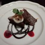 105642168 - 日替わりスイーツからチョコレートケーキ