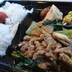 餃子・惣菜・弁当 りょう - 料理写真:「豚肉の四川炒め弁当」①