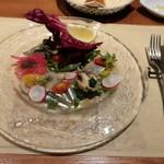 ブラチェリア デリツィオーゾ イタリア - 前菜(カルパッチョ)