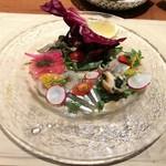 ブラチェリア デリツィオーゾ イタリア - 魚介類が5種類