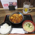 doramisakaba - 麻婆豆腐、スープ