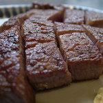 ステーキ毛利 - 料理写真:肉