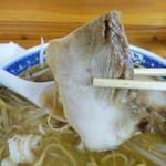 じょっぱり亭 - チャ-シューは脂身多いです^^;) 2011.11月