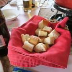 神戸チーズ - セットのパン
