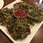 インド&バングラデシュ料理 ショナルガ - ほうれん草のパコラ