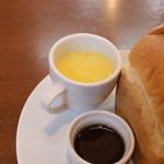 cafe しょぱん - コーンスープ