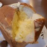 cafe しょぱん - 自家製の食パン 中はモッチリ♪