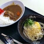 はなまるうどん - 2011.11 カレーセット(499円)