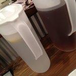 10566981 - レモン水とジャスミンティーです。