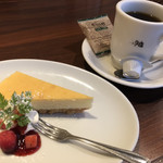 サクラ屋珈琲店 - ケーキセット