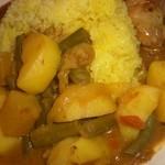 ラージャスターン2 - マイルドな野菜カレーはじゃが芋がゴロゴロ