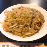廣華楼 - あんかけ焼きそば 肉絲炒麺