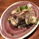 燦醸小町 蔵米 - サワラの塩南蛮 450円