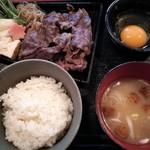 櫻田 - すき焼きランチ 995円