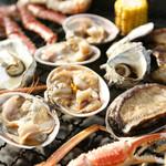 魚太郎 浜焼きバーベキュー - 料理写真:漁師が豪快に楽しむ、そのままを!
