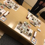 鮨・割烹 花絵巻 - 今宵の宴席♪