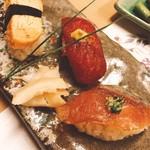 鮨・割烹 花絵巻 - 〆の寿司♪