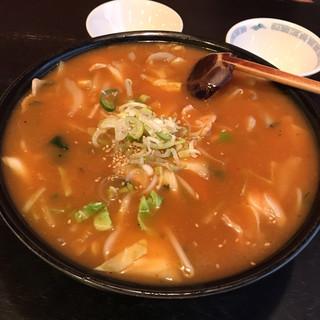 中国料理 廣河 - ピリ辛味噌ちゃんぽん