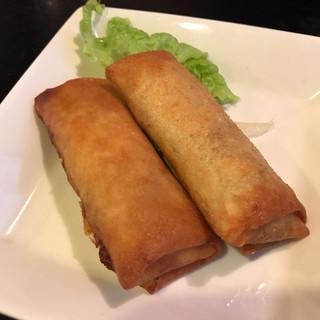 中国料理 廣河 - 春巻き