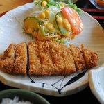 お食事処 大潮 - 料理写真:ロースカツ