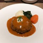 ボナ・フェスタ - 料理写真:ハンバーグ