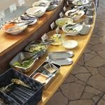 ファームレストランまきば - お惣菜バイキング