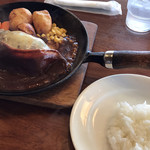 レストラン ケルン - 風味焼きハンバーグ 半ライス