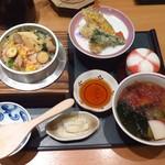 105687960 - 鶏釜めし定食1,490円(税込)