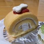 シャン・ドゥ・フレーズ - 料理写真:「(犬用)愛犬のおやつ わんわんロール (400円)」