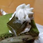 シャン・ドゥ・フレーズ - 抹茶のわらび餅
