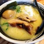 麺場 浜虎 - こく塩鶏そば