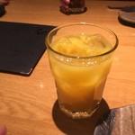 八吉 - オレンジジュース