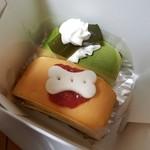 シャン・ドゥ・フレーズ - 美味しそうなケーキ♪
