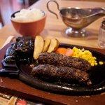 ステーキハウス ブロンコビリー - ブロンコビリー 炭焼きがんこハンバーグ