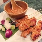 Hainanchifan - シンガポールサテー(鶏・豚)